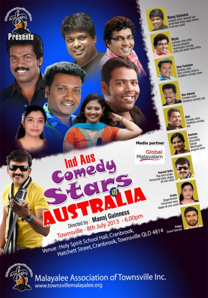 Comedy Stars in Australia - Comedy Show by MAT